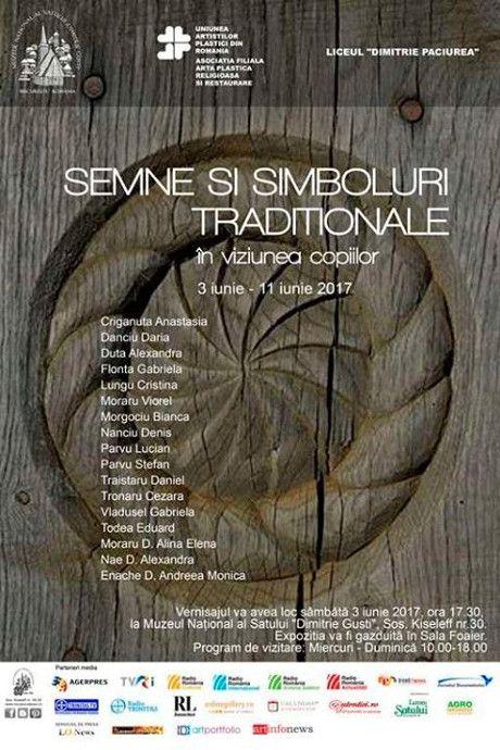"""""""Semne și simboluri în arta tradițională românească"""" @ Muzeul National al Satului """"Dimitrie Gusti"""