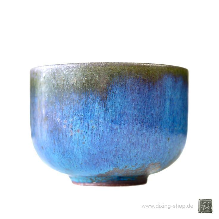 www.dixing-shop.de Porzellan Schale Lu-Jun des Keramikkünstlers Zi-Hao Zhang 张子豪