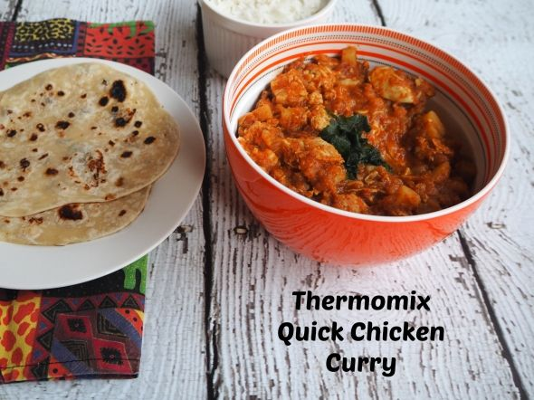 Here's a lovely Quick (lazy?) Chicken Curry Thermomix #recipe from @annoyed_thyroid @sammydownunder