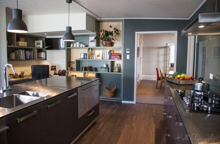 A modern kitchen designed by Cameron Grindlay from Dwelling Architectural Design Ltd #ADNZ #architecture #kitchen