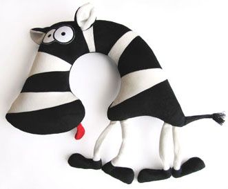 zebra neck pillow