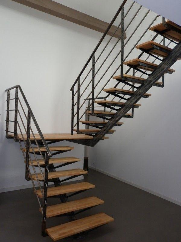 escaliers int rieur escaliers d int rieur escaliers puech metal design atelier de. Black Bedroom Furniture Sets. Home Design Ideas