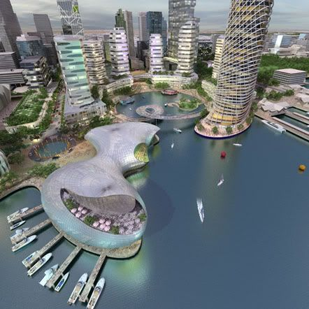 Proposed Perth Waterfront Development