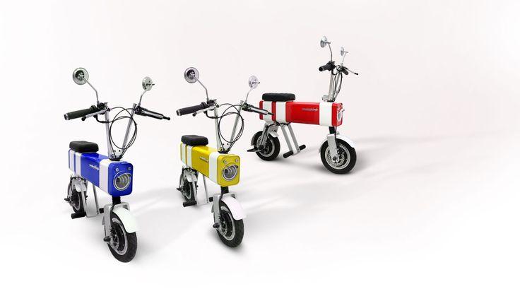 Разработчики представили концептуальный электрический мини-мотоцикл – Naked Science