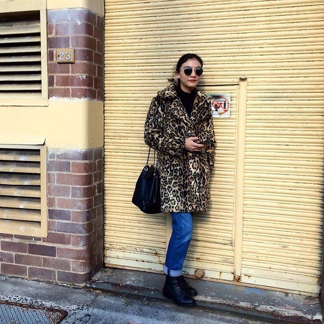 spot the leopard ⚡️ @asos @rayban #sydneyandstreet