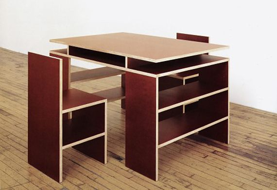 Donald Judd furniture collection aligns art and function at Dallas Modern Expo