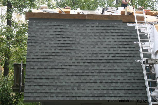 Gaf Timberline Hd Architectural Shingle In Slate Installed