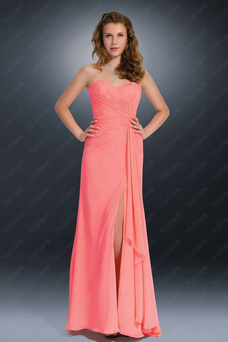 Mejores 82 imágenes de High Slit Dresses en Pinterest | Vestido de ...