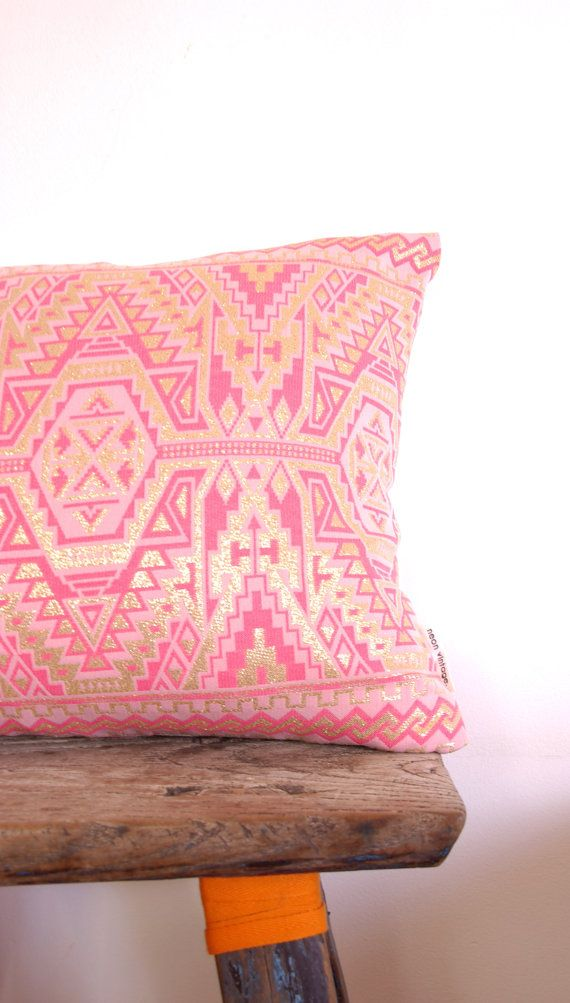 Cushion Cover Limited Edition Vintage Aztec by NeonVintageDesign