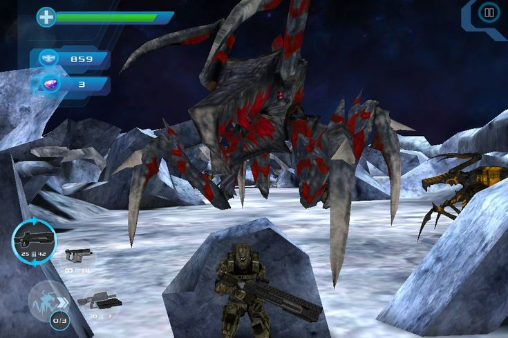 """Starship Troopers: Invasion """"Mobile Infantry"""" is an action game for Apple iOS devices, distributed through the App Store. Developed by Spectre Media LLC, and serves as the prequel to the film Starship Troopers: Invasion. The game was released November 13, 2012. The story begins during the time before the events of the film with the player controlling a rookie soldier for the Mobile Infantry assigned to the K-12 squad on a mission to protect humanity from the Arachnid forces."""