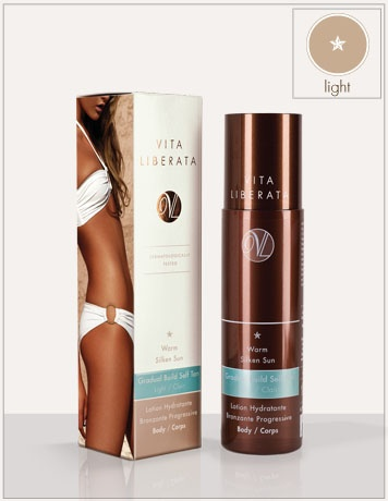 Warm Silken Sun: Body. Gradual Build Self Tan Light Body | Vita Liberata