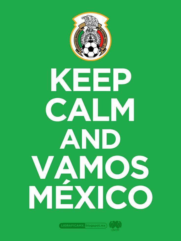 ¡Vamos México! • @Selección Mexicana • #LigraficaMX