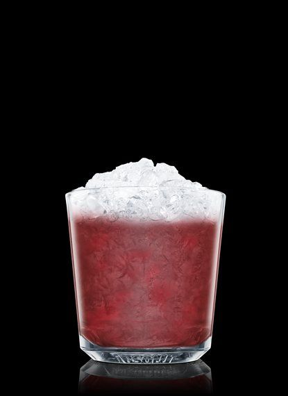 Raspberry Blimey - Muddle raspberry, black currant liqueur, lime juice and simple syrup in a chilled rocks glass. Fill with crushed ice. Add Absolut Vodka. Stir. 1 Part Absolut Vodka, 2 Dashes Black Currant Liqueur, 2 Dashes Simple Syrup, 1 Dash Lime Juice, 5 Pieces Raspberry