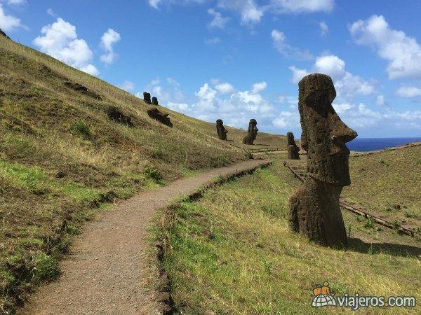 Isla de Pascua, Chile, destacada del concurso de fotos de abril. Foto de la viajera paulinacuevas. Mira más fotos ganadoras en www.viajeros.com