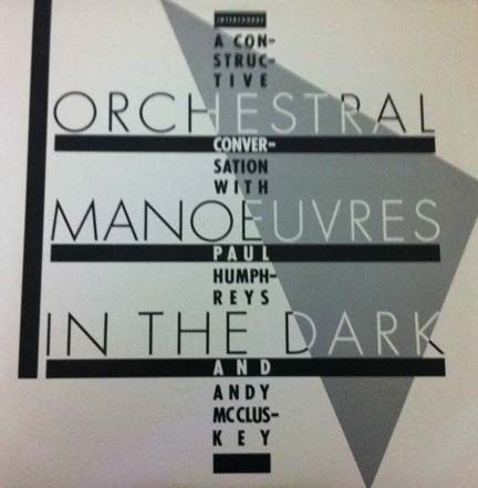 Orchestral Manoeuvres In The Dark later shortened to OMD