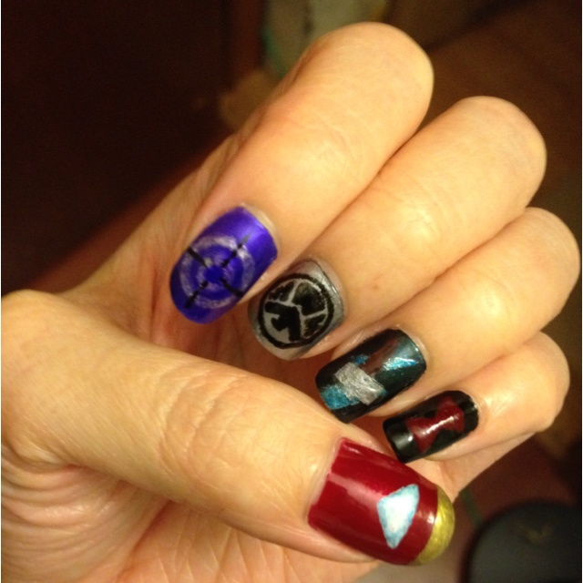 Avengers Nail Art Stickers: Nerd Edition Images On Pinterest