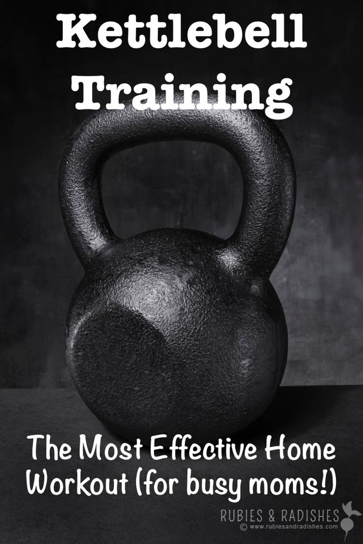 Kettlebell Training: The Most Effective Home Workout (for busy moms!) - Rubies & Radishes