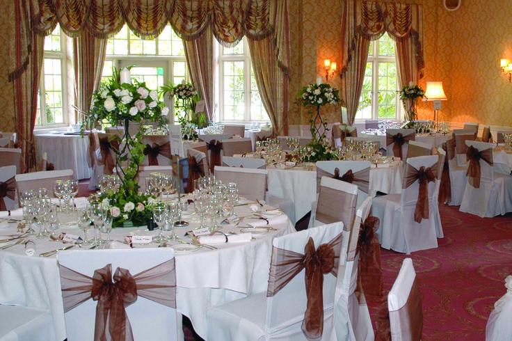 Wedding reception in our Chestnut Suite