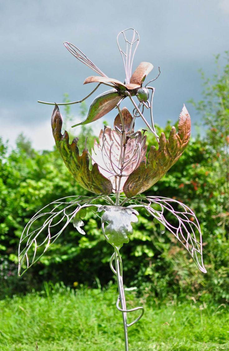 102 best MY METAL GLASS GARDEN images on Pinterest Glass garden