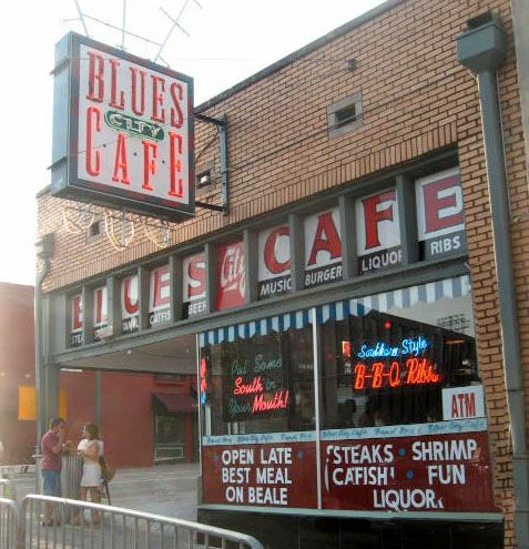 Blues City Cafe, Memphis.  LOVE the smoke sausage.