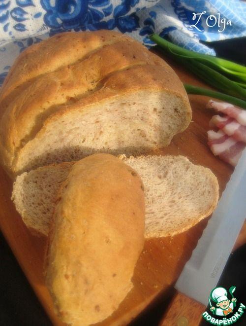 Гречневый хлеб на сыворотке - кулинарный рецепт