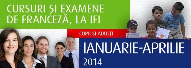 Cursuri si examene de franceză la Institutul Francez Iasi (2014)