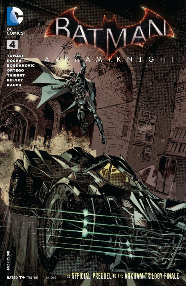 BATMAN: ARKHAM KNIGHT #4 | DC Comics