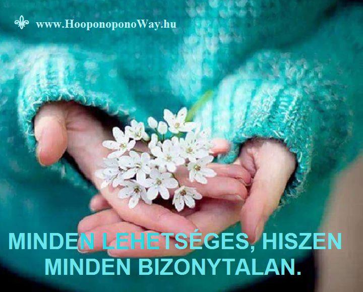 Hálát adok a mai napért. Ember tervez - Isten pedig szabad választást adott. Számolni azzal, hogy minden lehetséges, maga a belső béke. A szív nem kalkulál. Így aztán nem is borul a terv. Így szeretlek, Élet! Köszönöm. Szeretlek ❤️ ⚜ Ho'oponoponoWay Magyarország ⚜ www.HooponoponoWay.hu