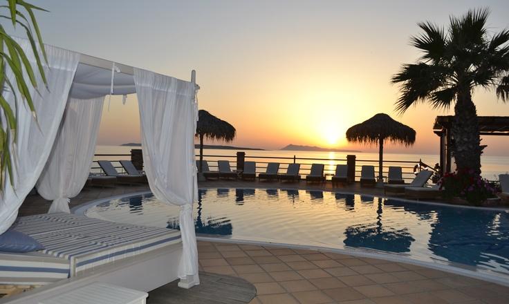 #Sunset #Corfu #summer #holidays