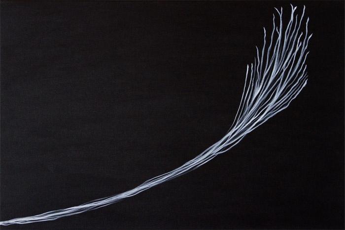 John Johnston Growth, 2013 Acrylic on canvas 90cm x 60cm (35.4 x 23.6 inches)