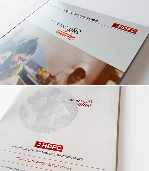 HDFC - Annual Report 2014-15 #HDFC #AnnualReport #YAworks