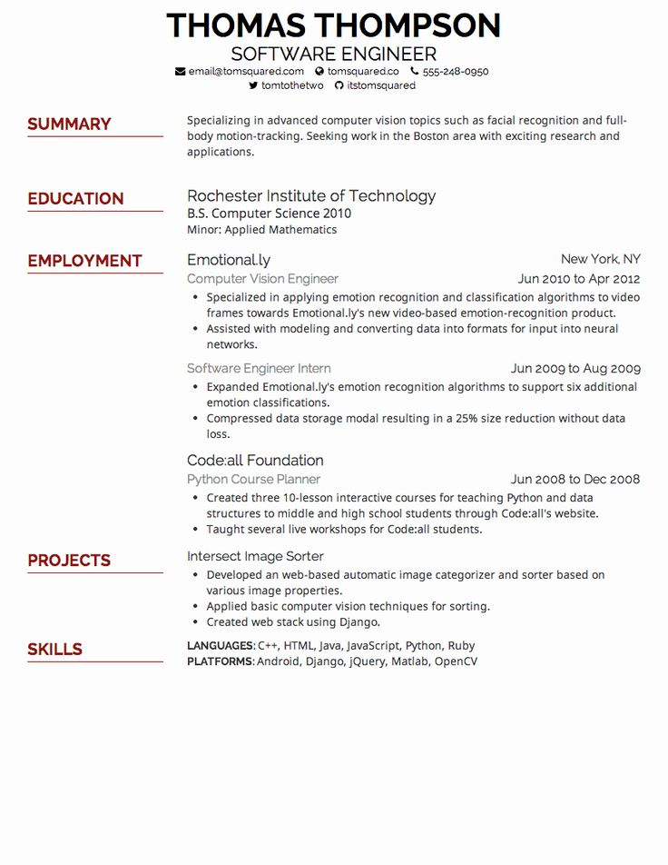Letter Size Good resume examples, Resume fonts, Resume