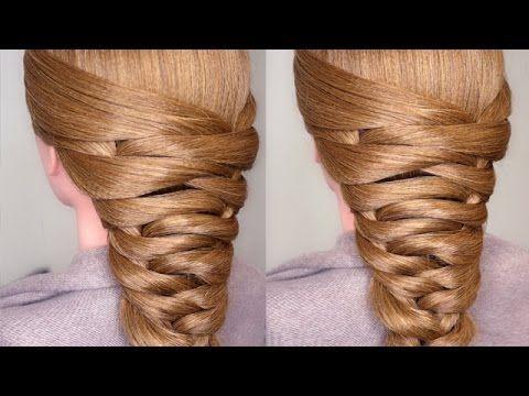 Easy Bridal Tier Braid Hair Tutorial