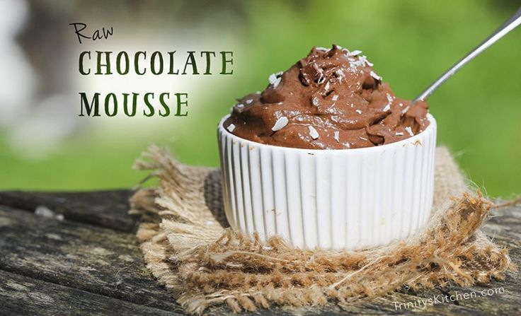 Raw Chocolate Mousse Recipe with Avocado & Banana – Trinity's Conscious Kitchen