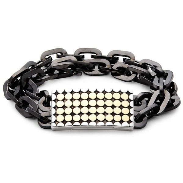 John Hardy Sterling Silver and Stainless Steel Chain Bracelet ($570) ❤ liked on Polyvore featuring men's fashion, men's jewelry, men's bracelets, mens bracelets, john hardy mens bracelets, mens sterling silver bracelets, mens sterling silver chains and mens stainless steel bracelets