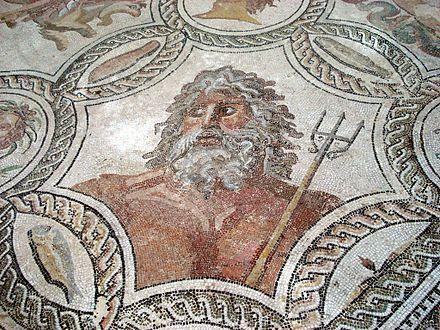 Mosaic of Neptune | Museo Archeologico Nazionale, Palermo