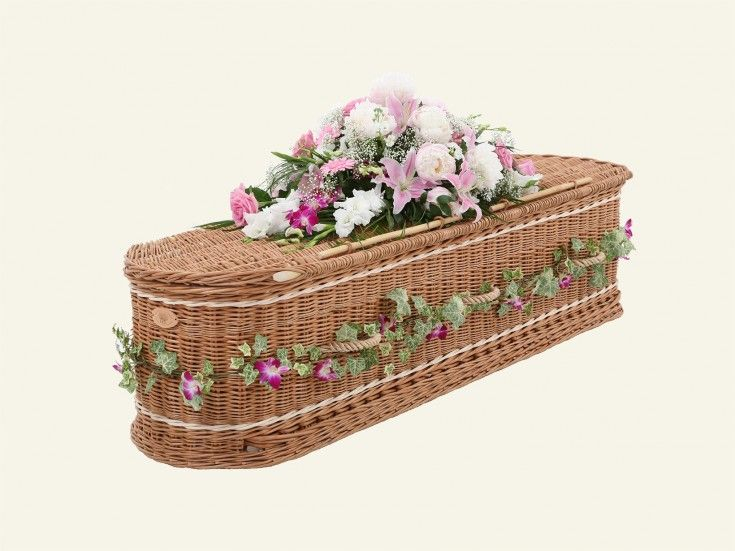 Woven Basket Casket : Best images about uk funerals on funeral