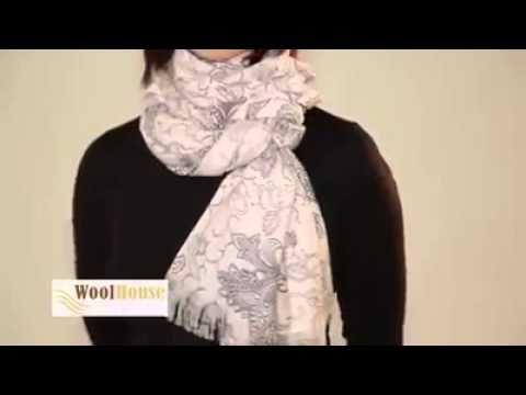 Şal / Fular kullanma yöntemleri | Melisa'yla birlikte - YouTube