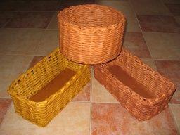 Namořené košíky