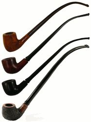 "11"" Full Bent Churchwarden Briar Smoking Pipe"
