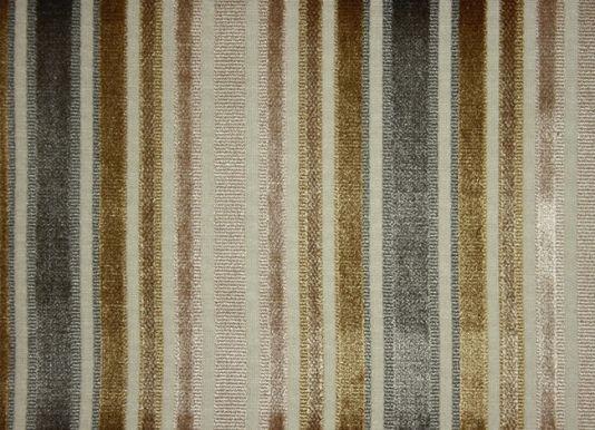 Brook Street Velvet Stripe Fabric Striped cut velvet in