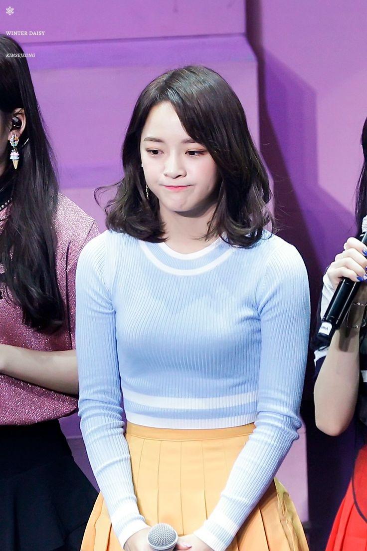 "170228 - Gugudan Kim Sejeong @ ""Act.2 Narcissus"" comeback showcase (cr.WinterDaisY1204)   Twitter"