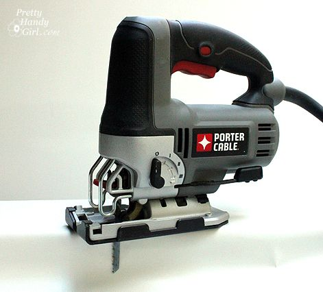 How to Use a Jig Saw – Tool Tutorial Friday and Trick or Tip/ Love this tip for cutting an outlet hole. Hint: Lipstick