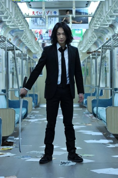 GANTZ: Perfect Answer - Go Ayano this guy is the poster boy for  public transportation