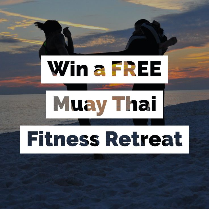 Win a FREE Muay Thai Fitness Holiday for Summer 2019! #kickboxing #muaythai #wor…