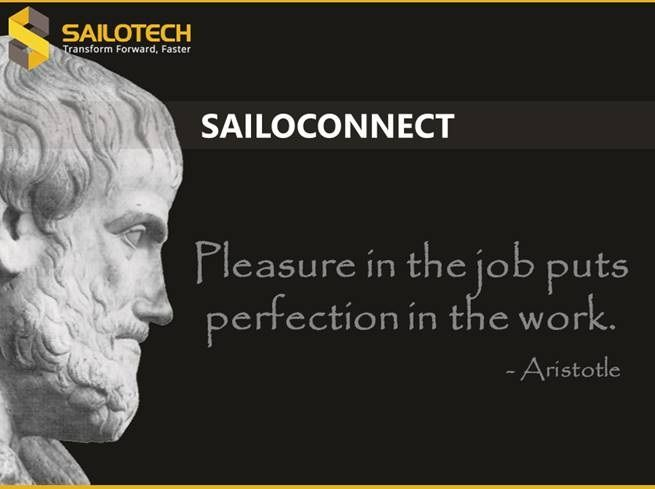 """""""Pleasure in the job puts perfection in the work."""" #motivationalquotes #motivation #ThursdayThoughts"""