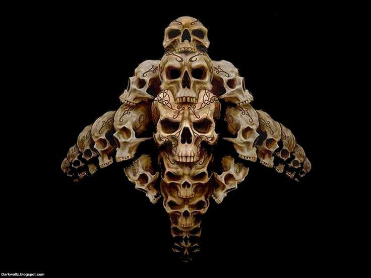 Skull Pics Wallpapers - WallpaperSafari