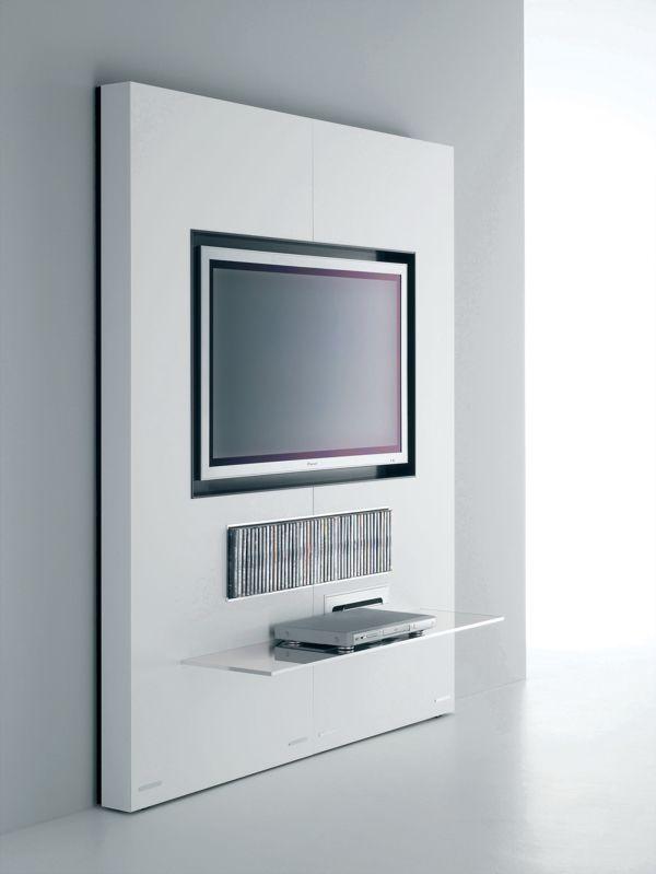 Great tv hifi sobre lgant poru un petit systme dans un sjour ou with meuble tv chambre Ouedkniss salon modern