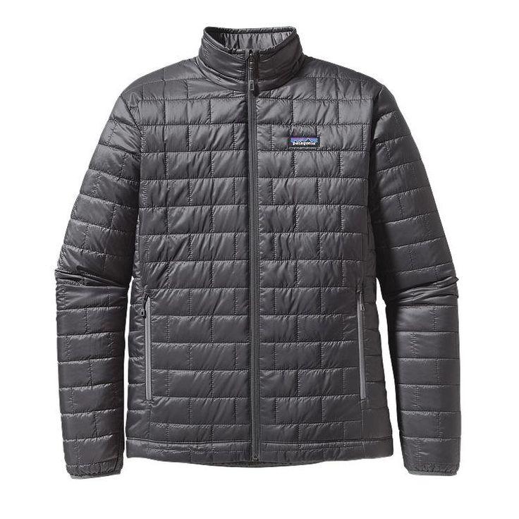 Patagonia Men's Nano Puff Jacket 84211 Forge Grey
