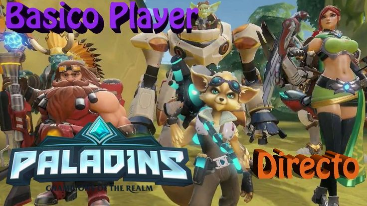 Paladins Gameplay Español   Free to play   Let's play Paladins   DIRECTO...